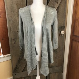 American Eagle Outfitters Gray Shrug Size Small